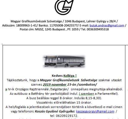 magyar grafikusmuveszek szovetsege utazas rajztriennale