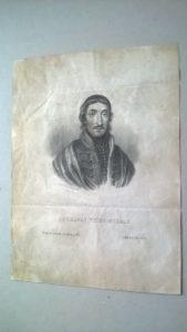A Képzőművészeti gyűjtemény szakraktárában végzett revíziós munkavégzés során a grafikai szekrény fiókjában találták meg a muzeológusok és a gyűjteménykezelő a selyempapírba csomagolt kilenc darab grafikai lapot.