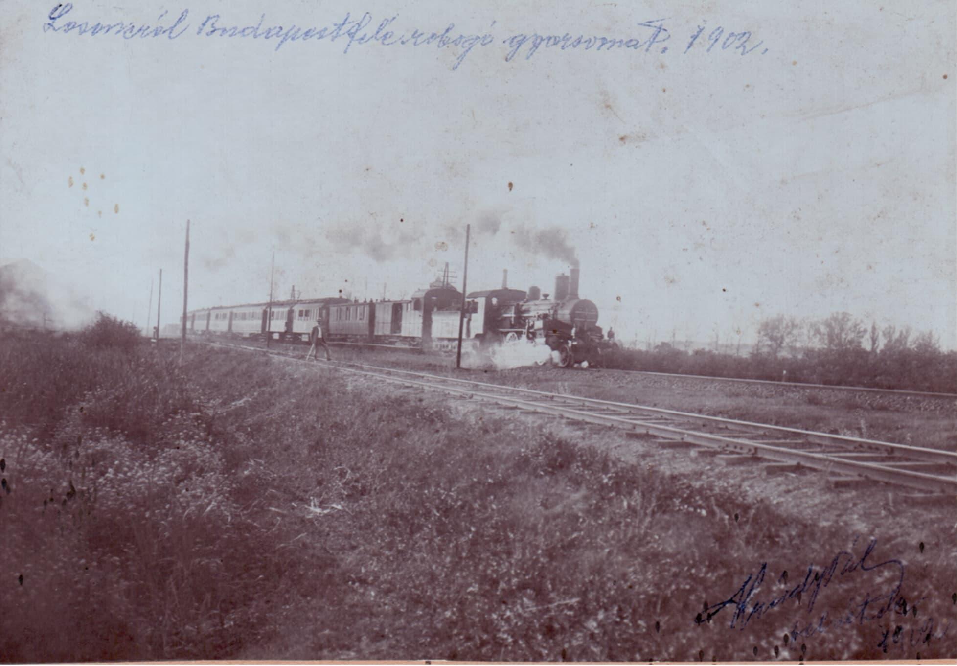 gyorsvonati szerelveny losonc kozeleben 1902