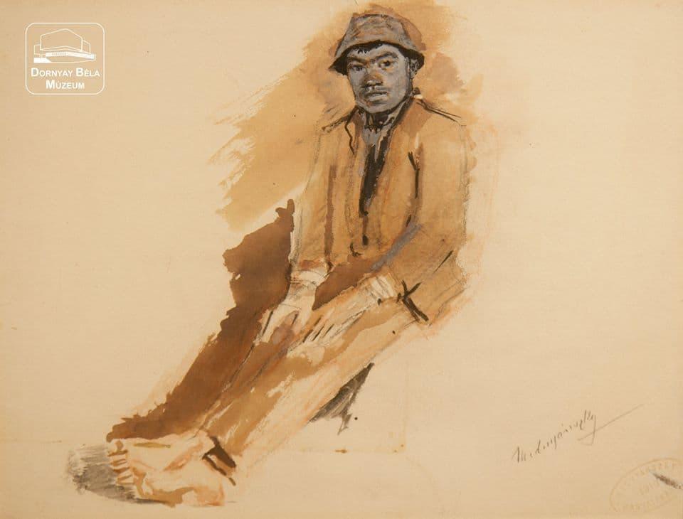 MEDNYÁNSZKY LÁSZLÓ (Beckó, 1852. április 23 – Bécs, 1919. április 17.) Mednyánszky László képzőművész 168 éve ezen a napon született.