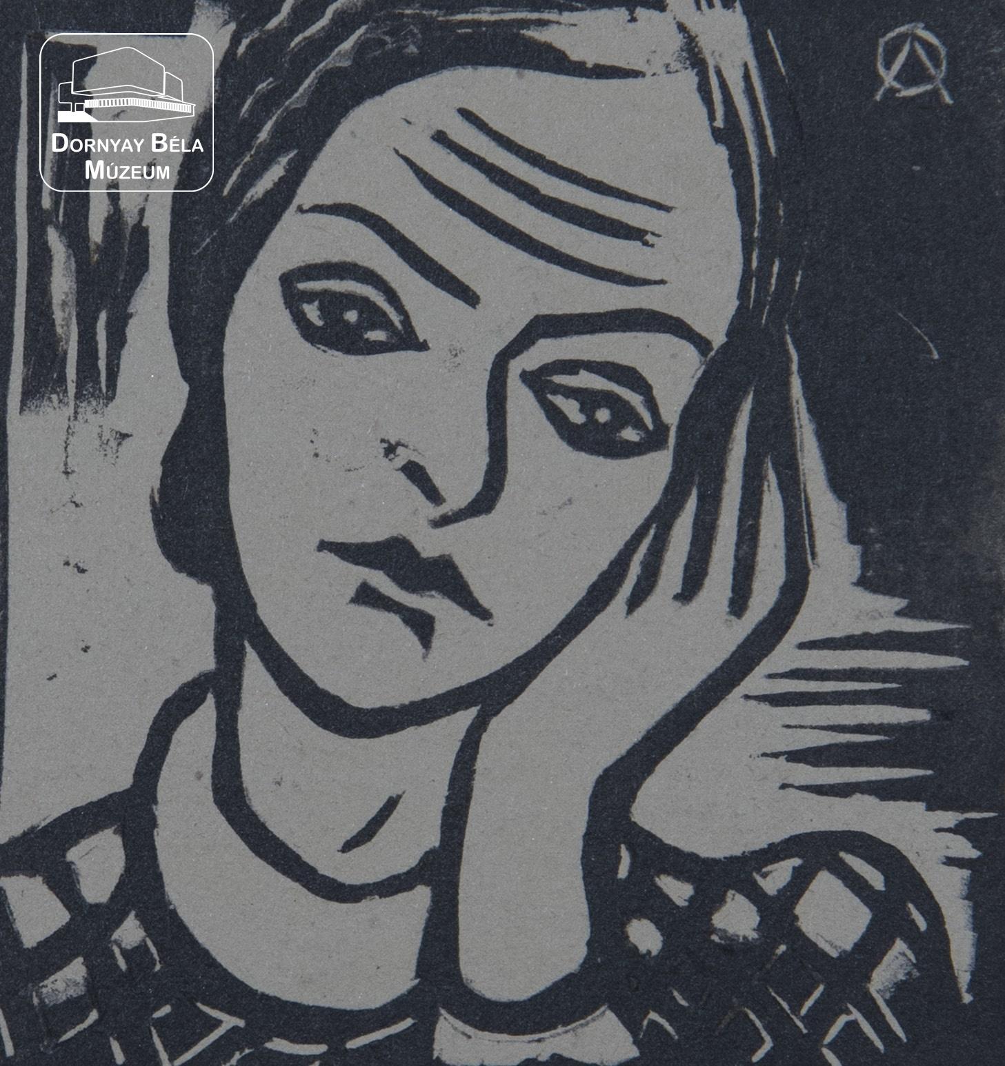 Alkotás: Oelmacher Anna: Önarckép, 1934. Fotó: Shah Timor