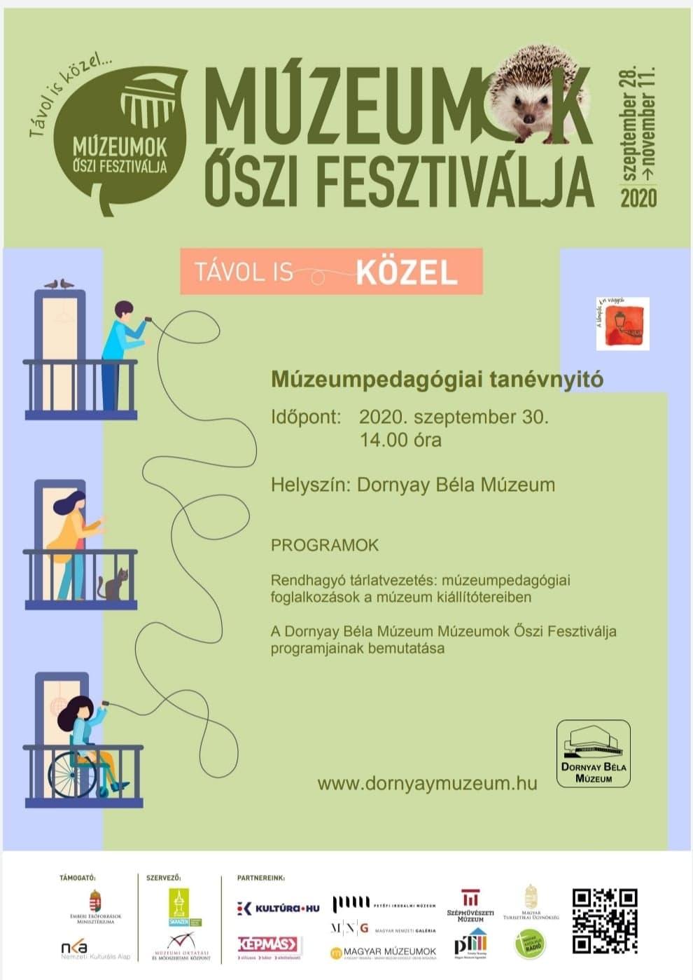 Múzeumpedagógiai Tanévnyitó Plakát