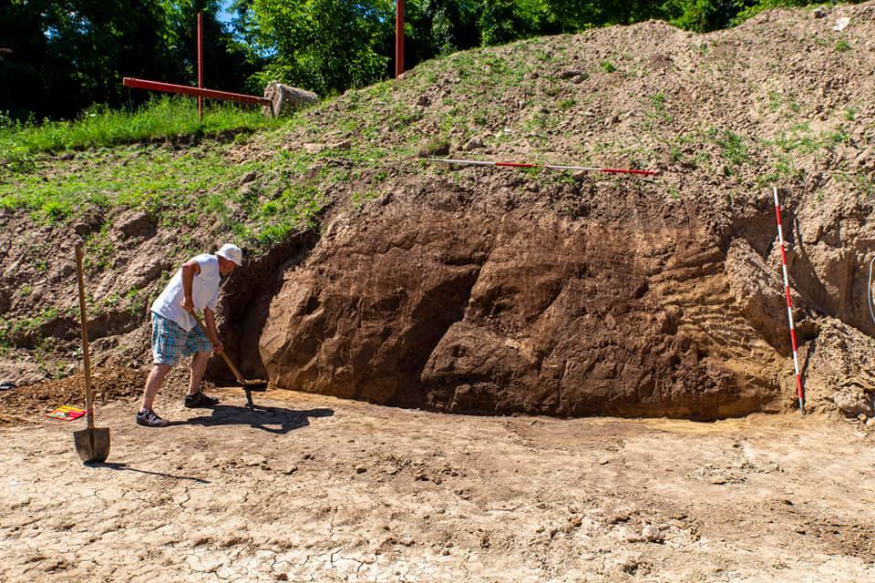 Ságújfaluban a bronzkor időszakából származó két tárológödröttártunk fel. Az egyik gödörből kerámiatöredékekmellett egy agyag kerékmodell látott napvilágot. Köszönjük szépen a széleskörű segítséget Szentes Attila polgármester úrnak.