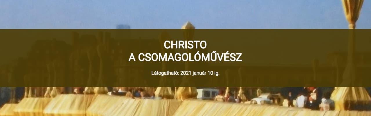 CHRISTO - A CSOMAGOLÓMŰVÉSZ